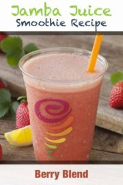 Jamba Juice Berry Blend Smoothie