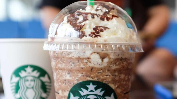 Starbucks Secret Menu Chocolate Dalmatian Frappuccino