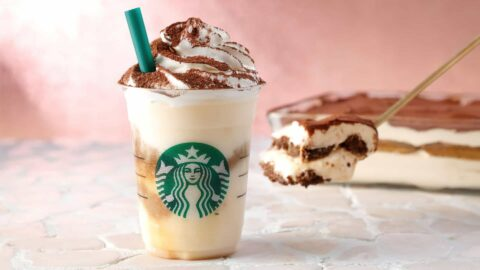 Starbucks Secret Menu Tiramisu Frappuccino