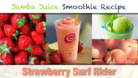 Jamba Juice Strawberry Surf Rider Smoothie Recipe