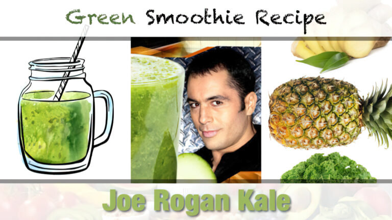 Joe Rogan Kale Shake Recipe