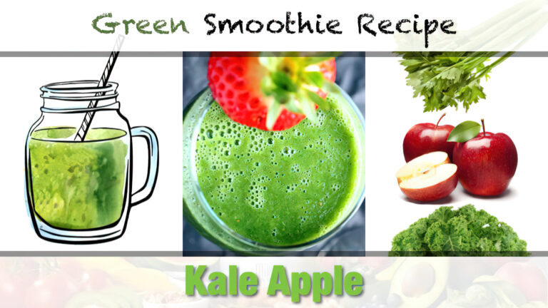 Kale-Apple Green Smoothie Recipe