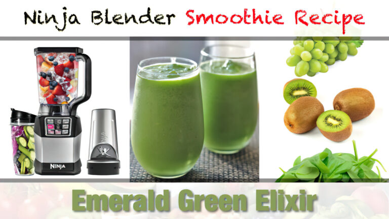Ninja Blender Emerald Green Elixir Smoothie Recipe