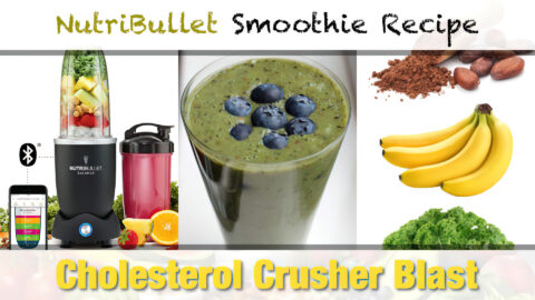 NutriBullet Cholesterol Crusher Blast Smoothie Recipe