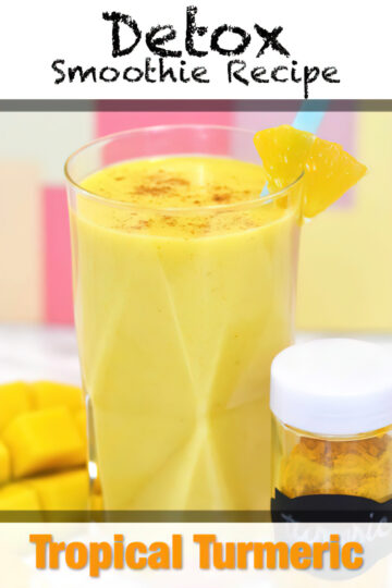 Tropical Turmeric Cleanser Smoothie Recipe